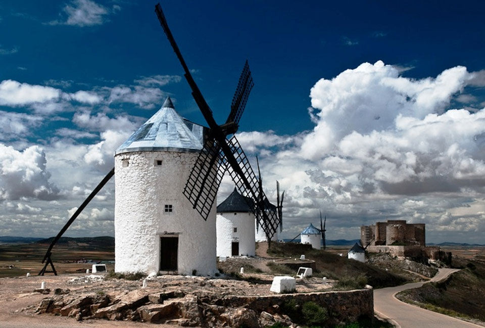 Sightseeing at Consuegra