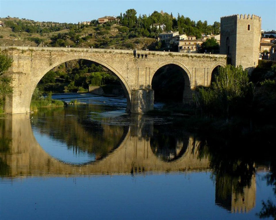 San Martin Bridge in Toledo